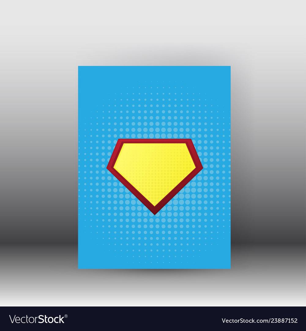 Superman poster and brochure design