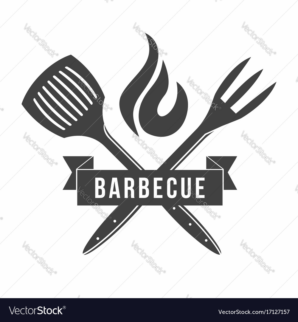 Bbq Grill And Barbecue Restaurant Logo Menu