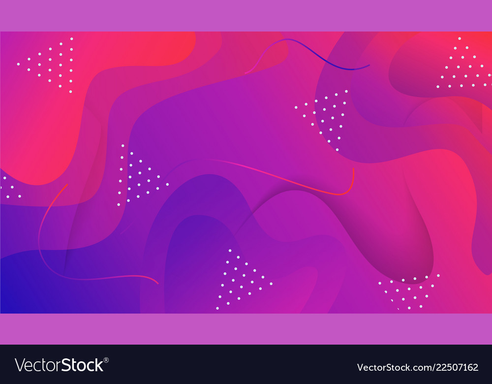 Composition with fluid and geometric shape