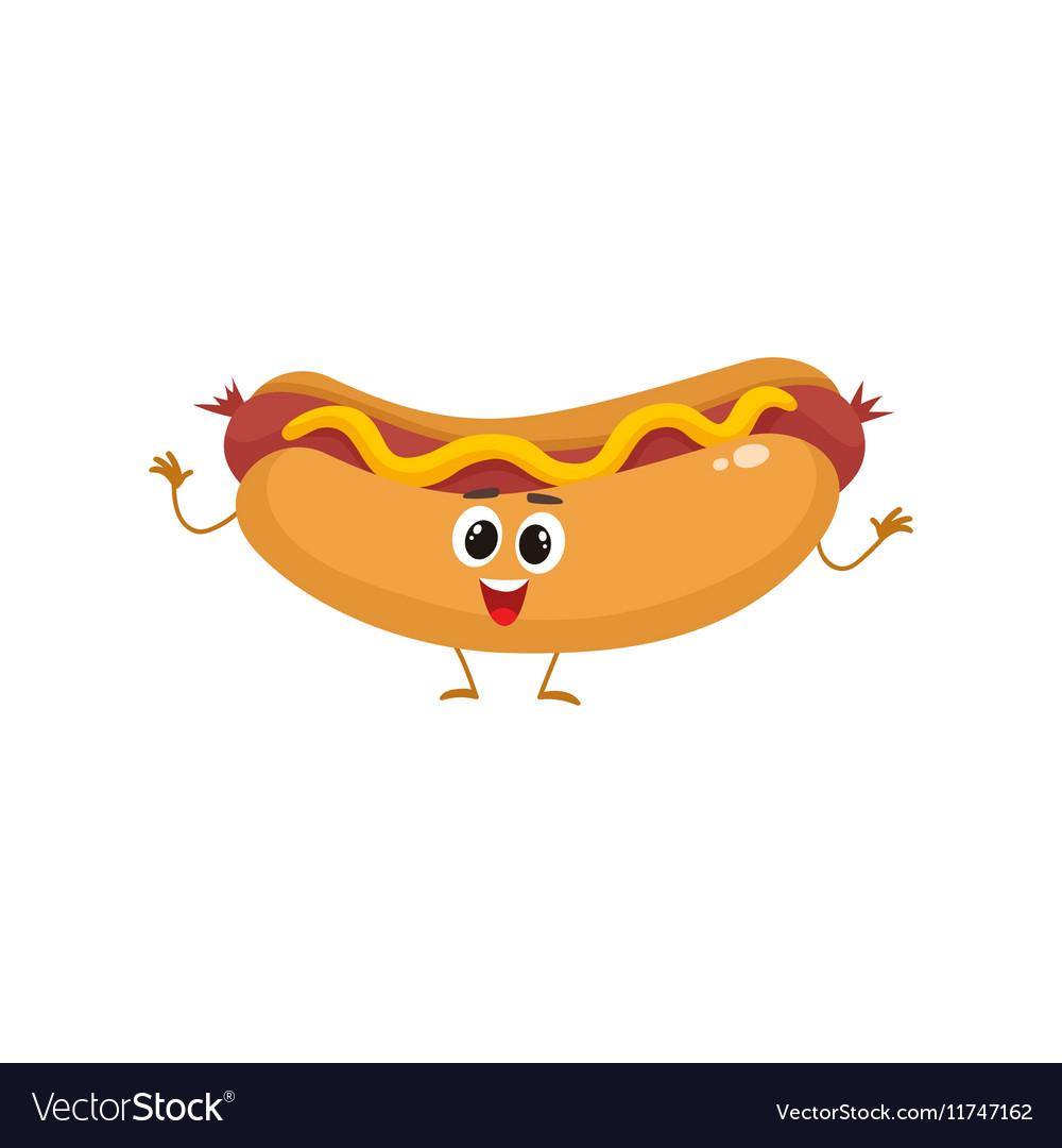 funny hot dog pic
