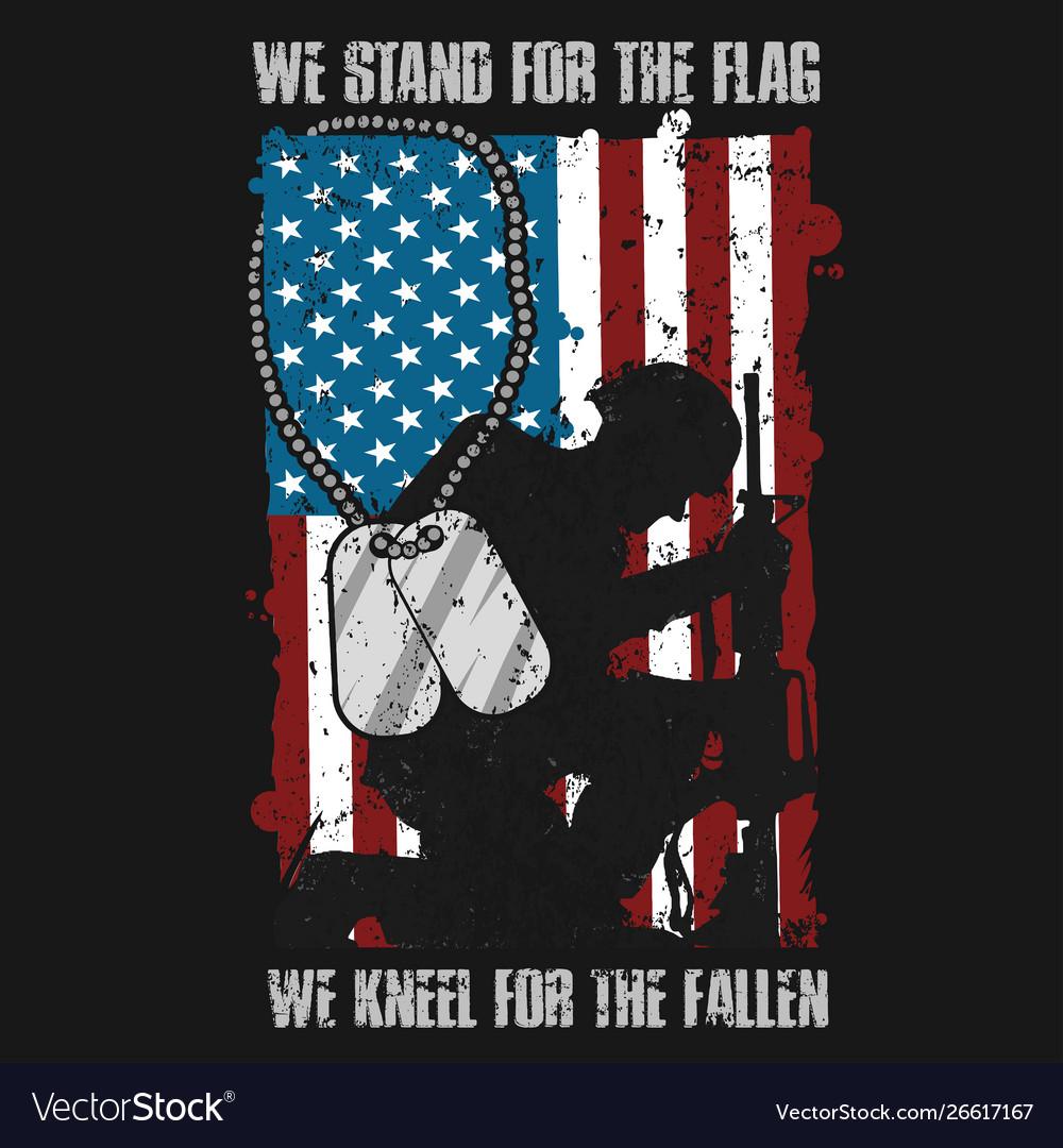 Veterans day memorial usa flag