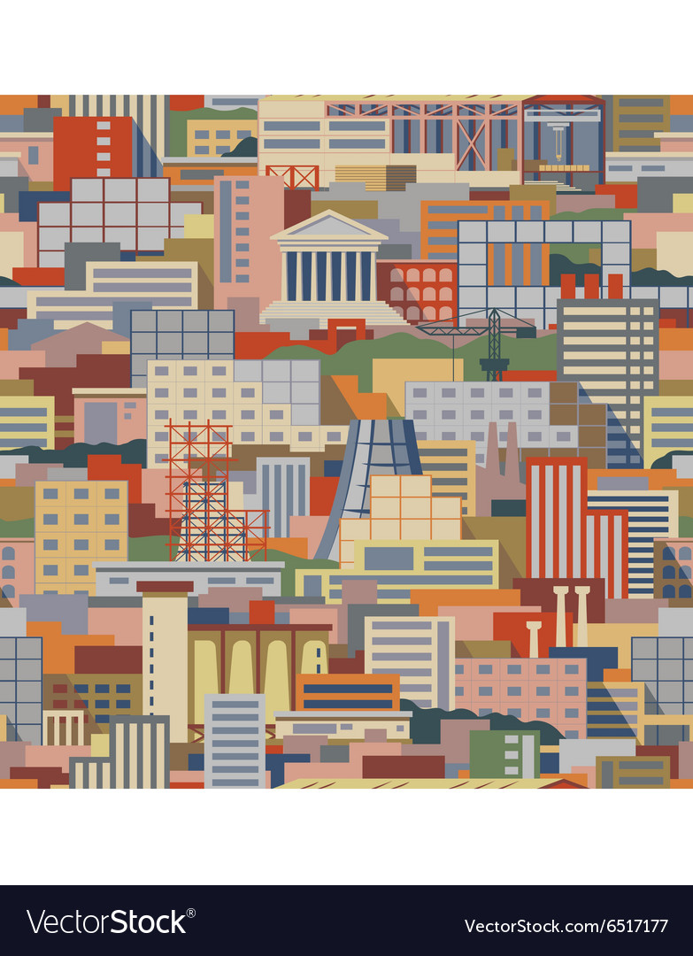 Industrial pattern vector image