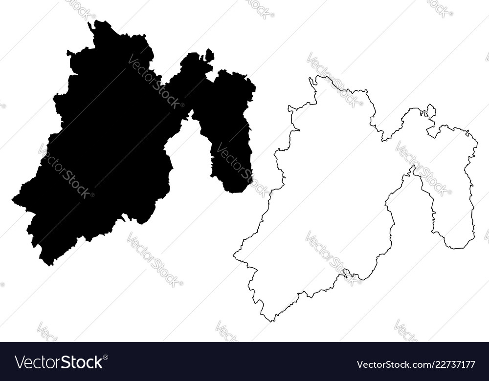 State of mexico map