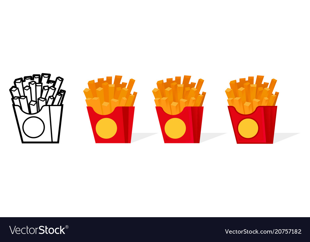 American french fries