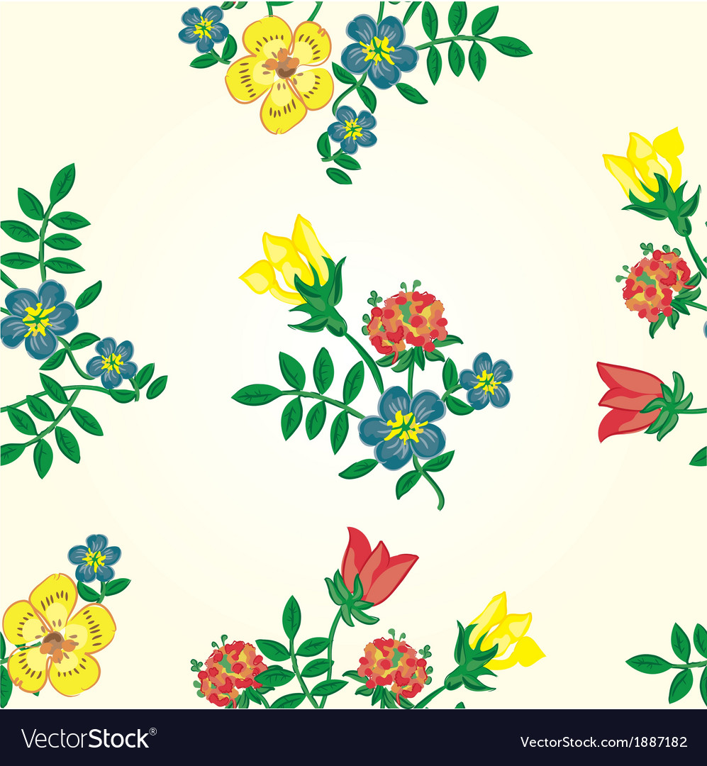Floral seamless pattern Texture with flowe