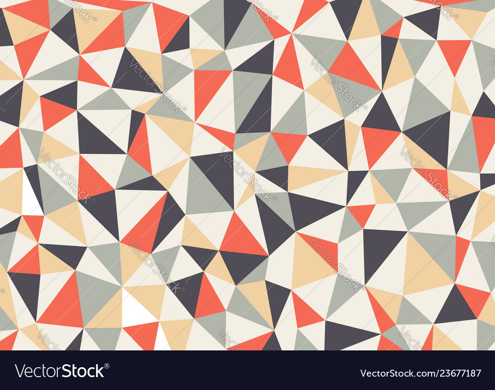 Polygon triangles background abstract