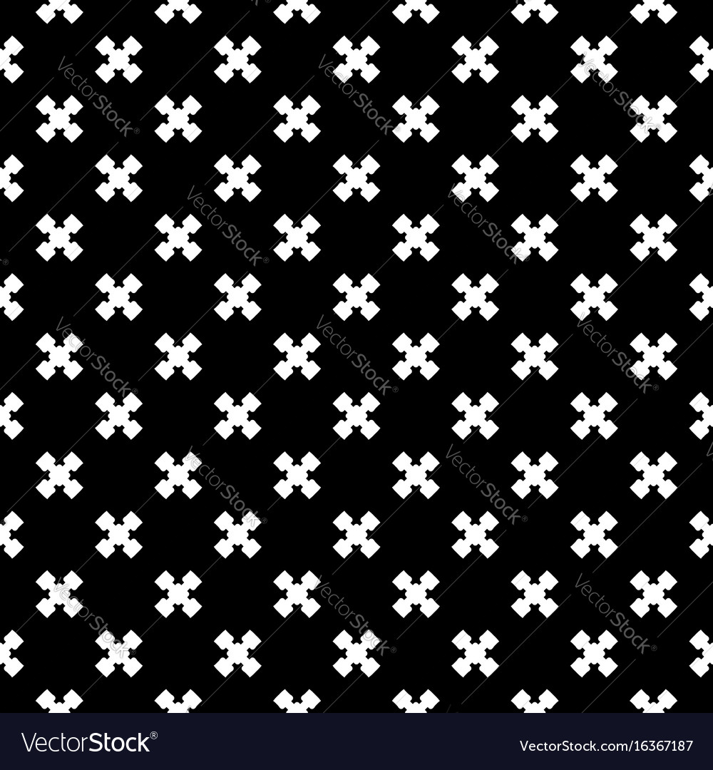Seamless texture cross pattern