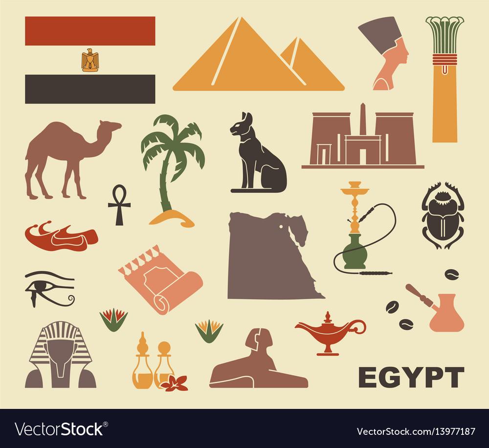 Traditional symbols of egypt