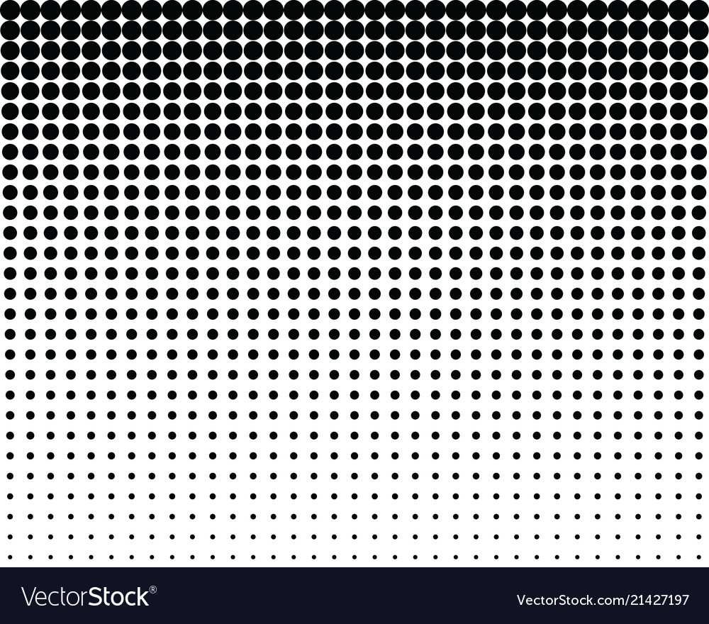 Pattern with blend black dots