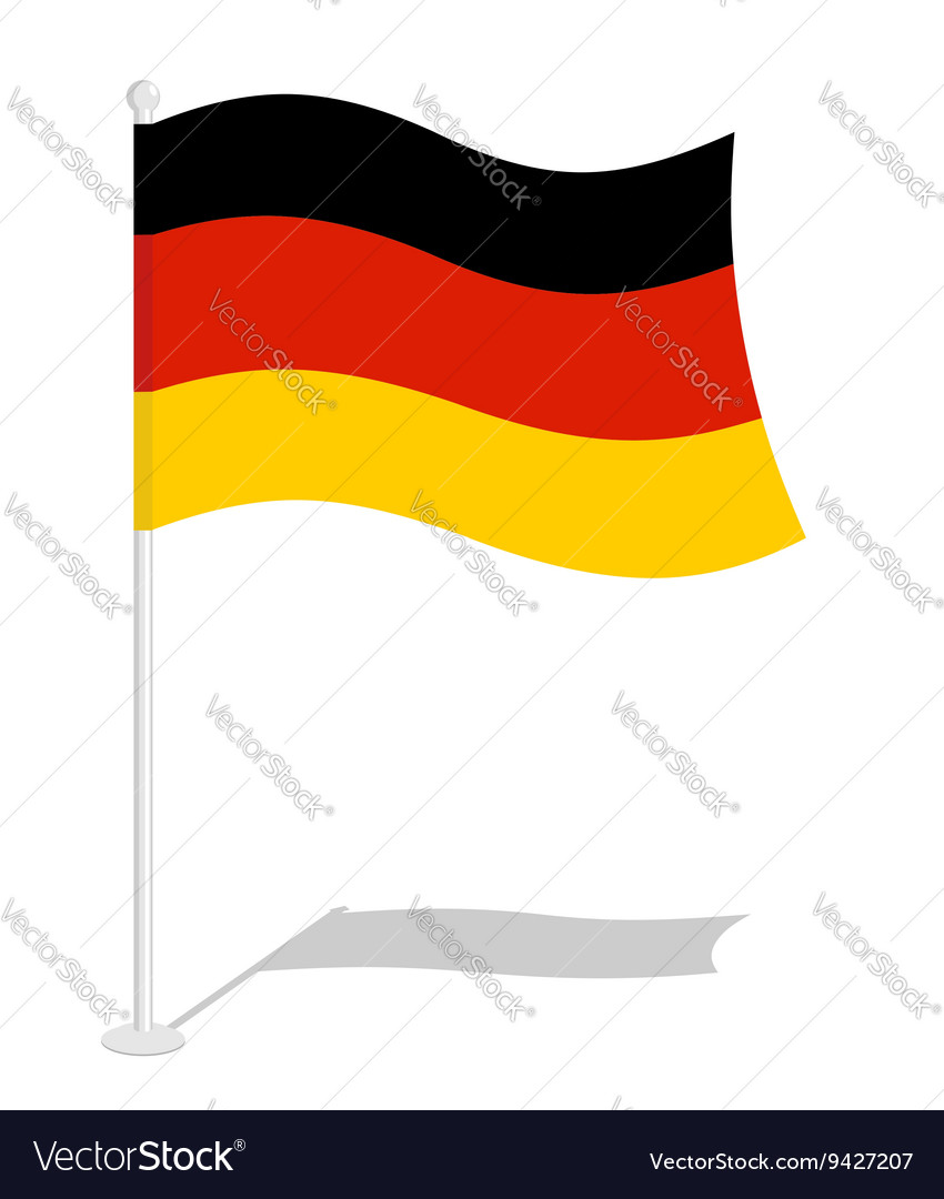 Germany flag Official national symbol of German