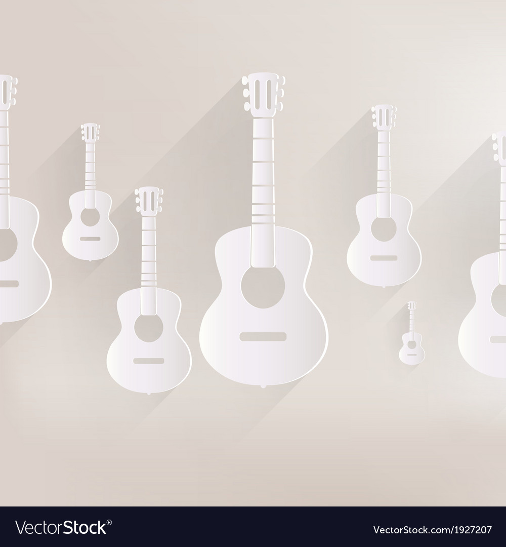 Guitar icon Music background