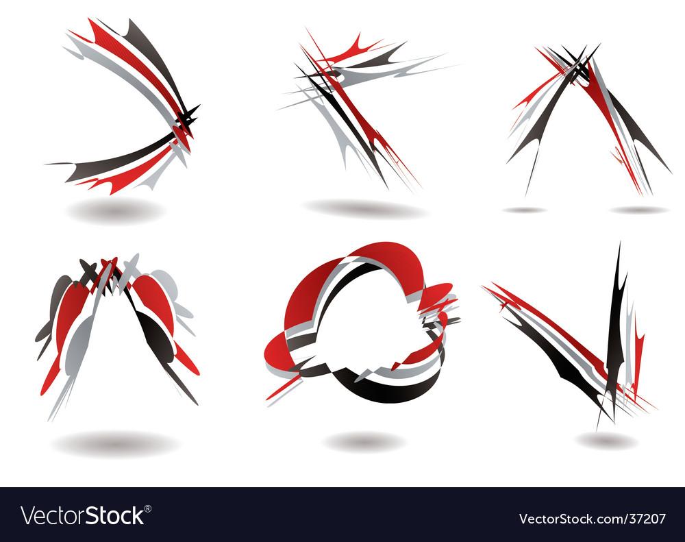 Ribbon logo twist