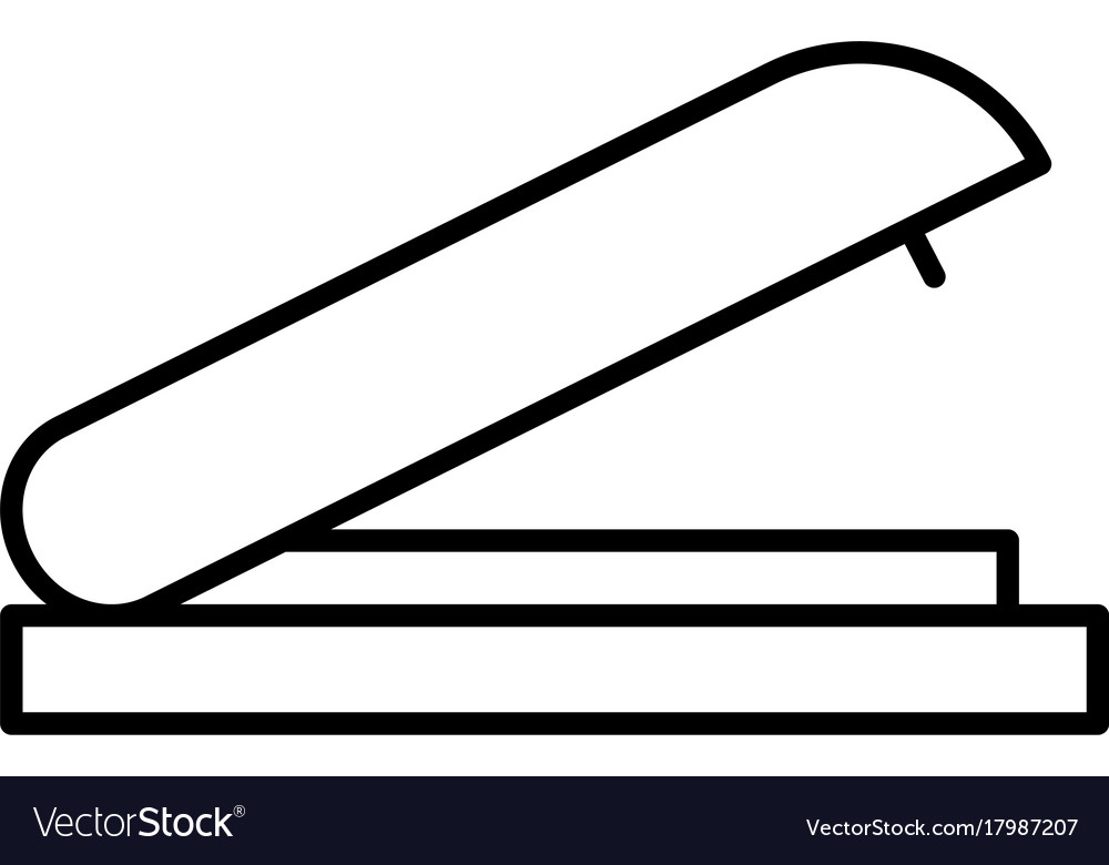 Stapler icon vector image