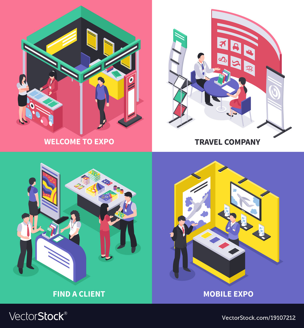 Expo stand design concept