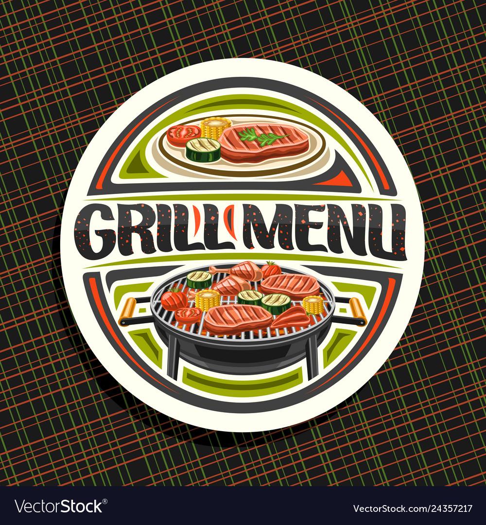 Logo for grill menu
