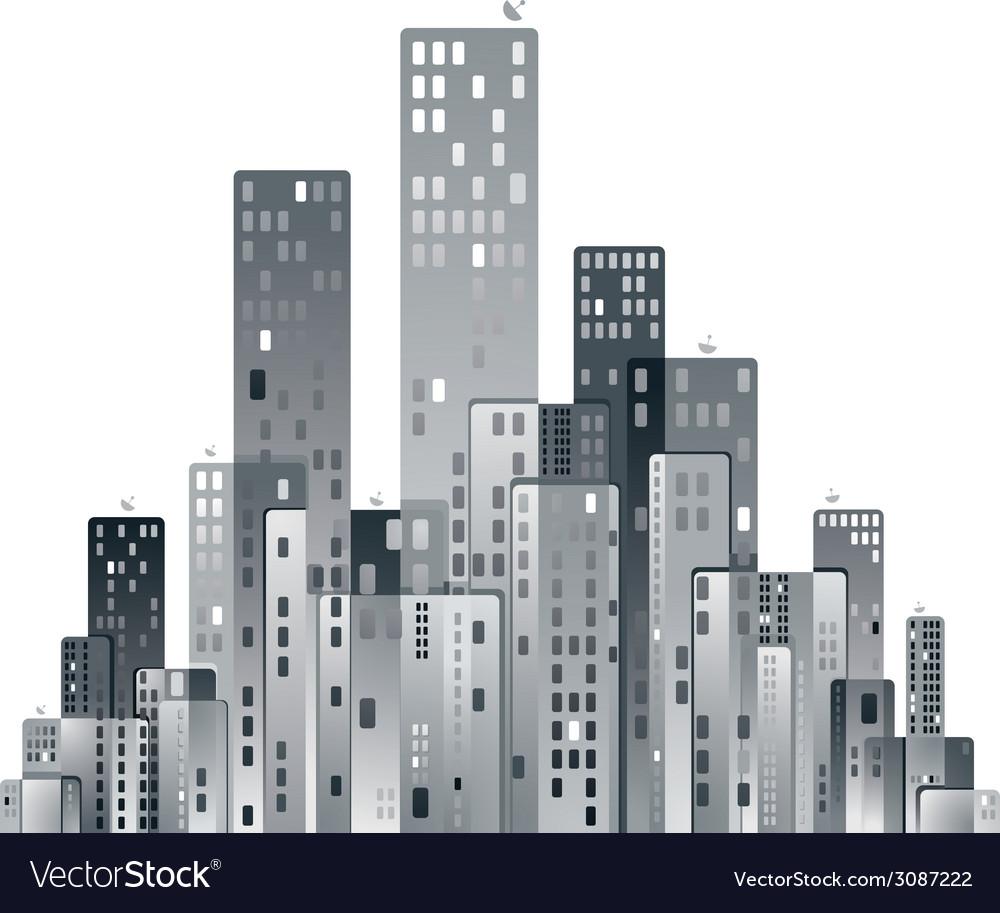 Modern city panorama