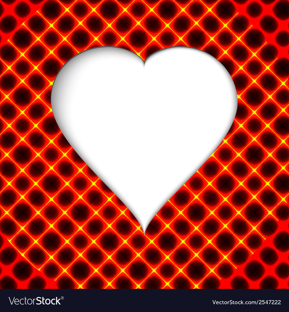 Valentines day Modern abstract background with red