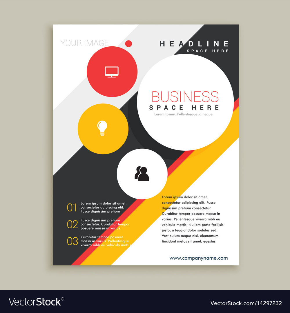 Creative brochure template presentation