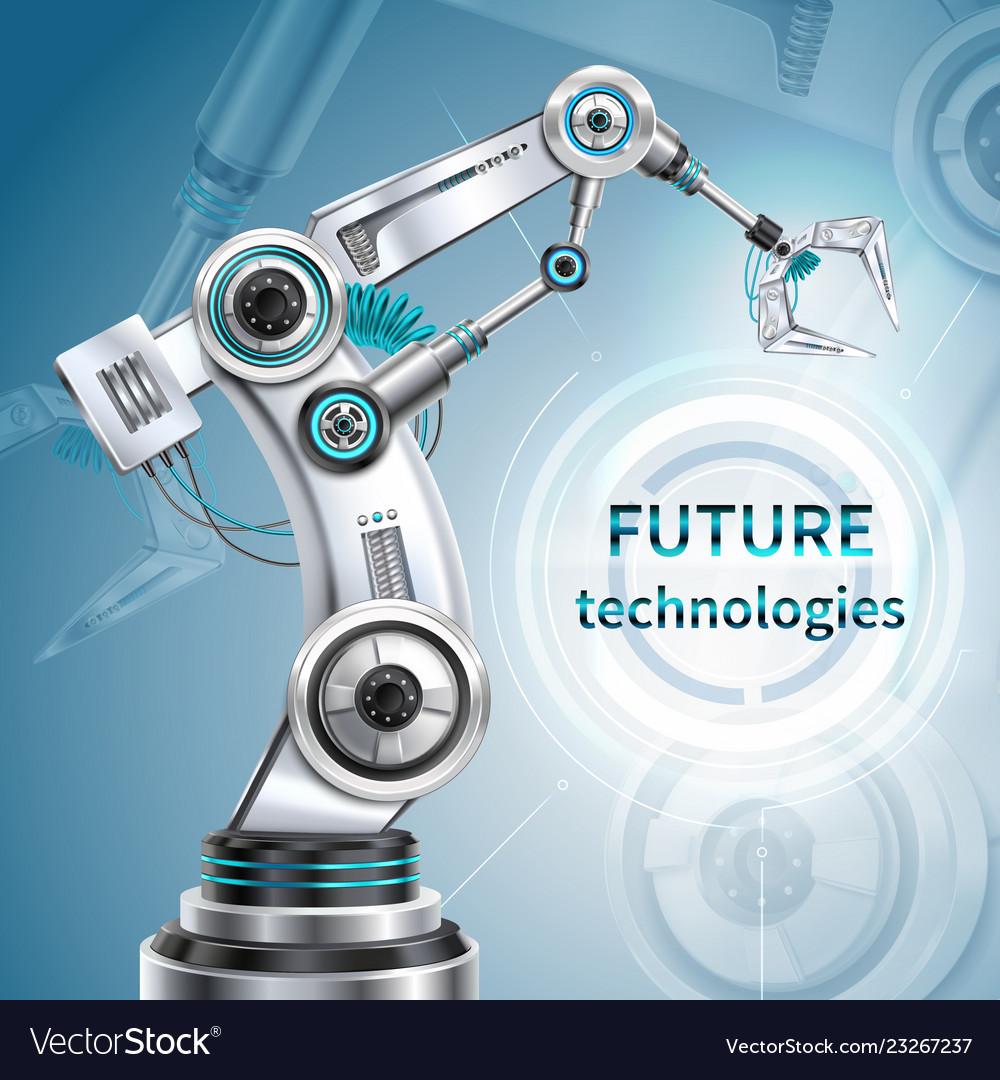 Robotic arm poster