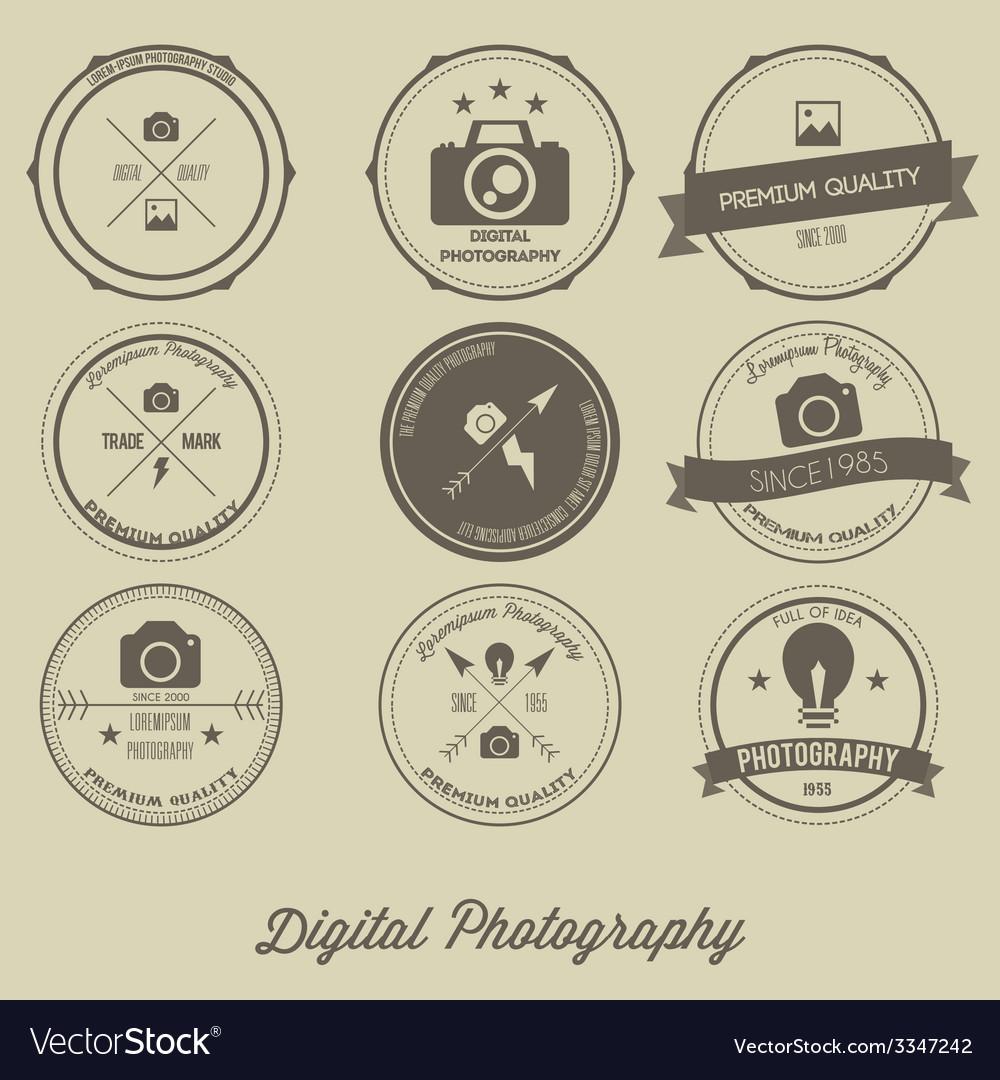 Photography Vintage Creative Logo Concept