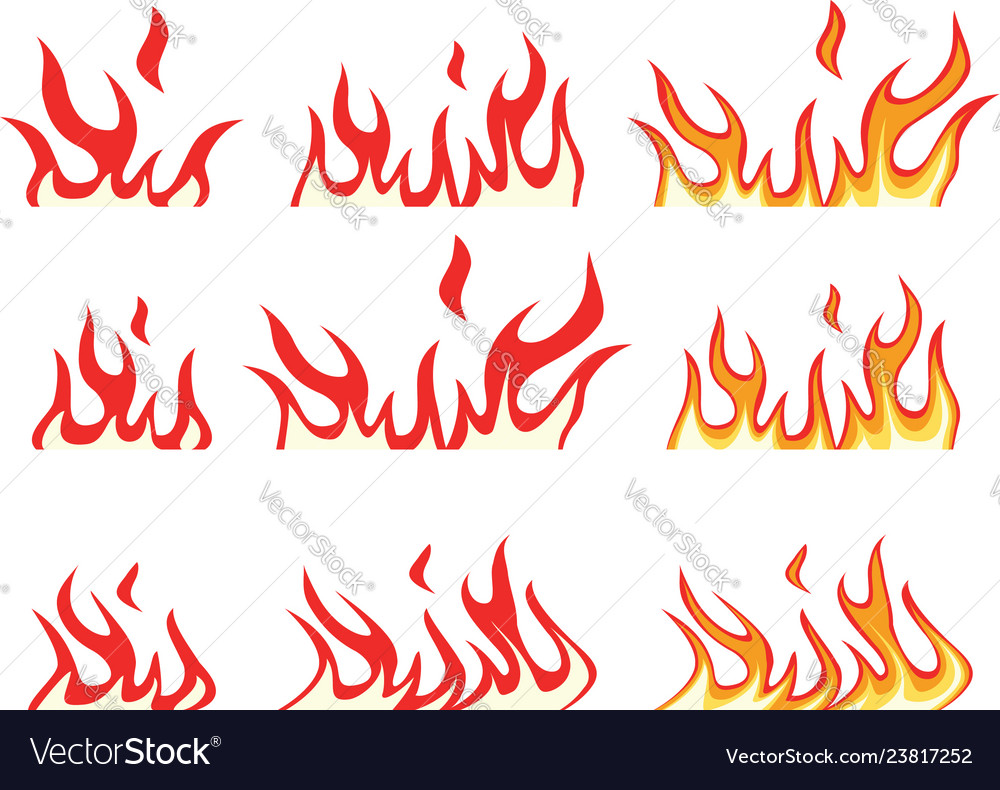 Collection fire icons