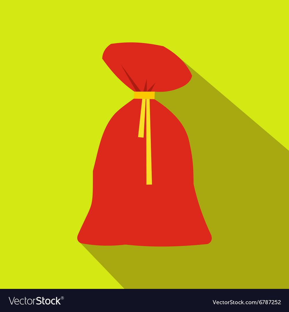 Santa claus big bag icon