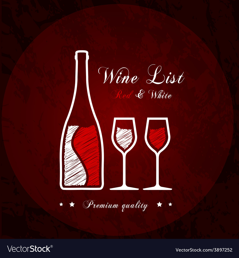Wine list designs