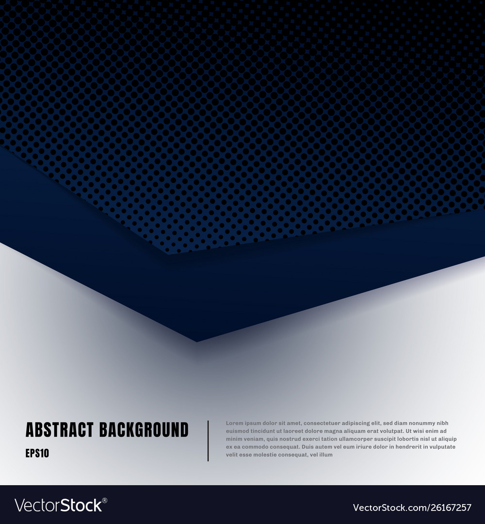 Abstract paper art and halftone style layout