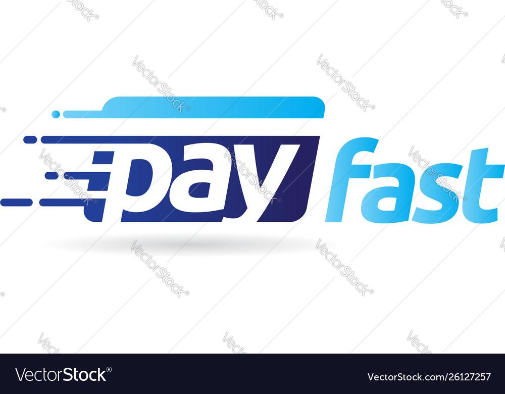 Fast pay digital electronic transaction logo