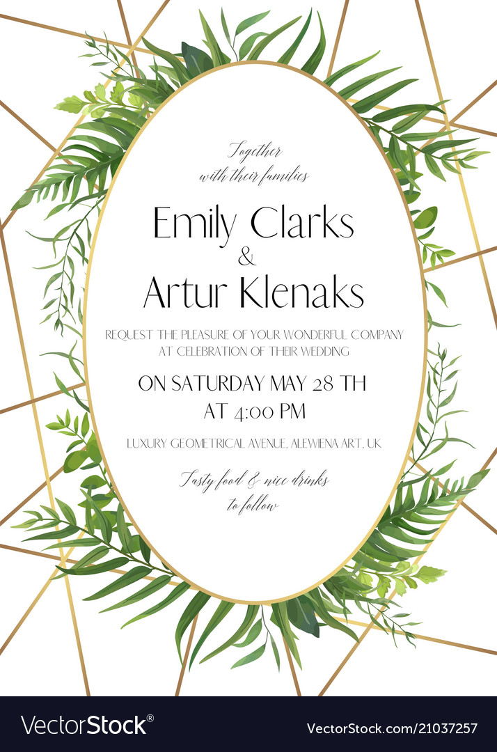 Wedding invite save date card design
