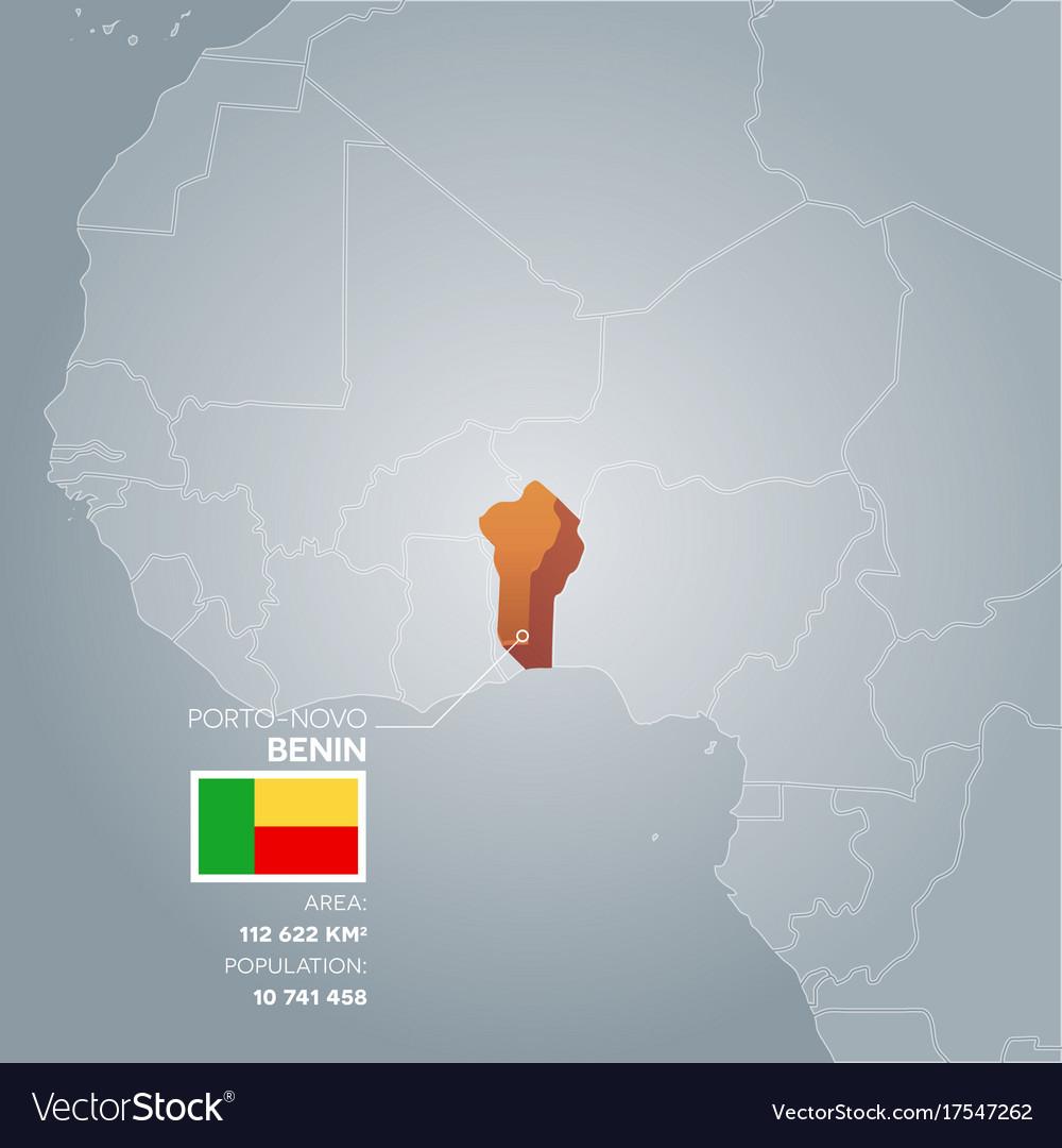 Benin information map