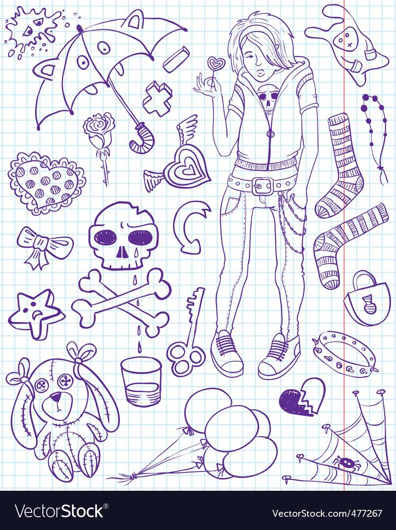 Emo doodles