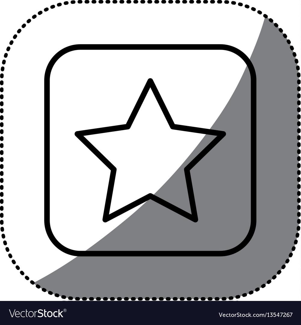 Figure symbol star icon