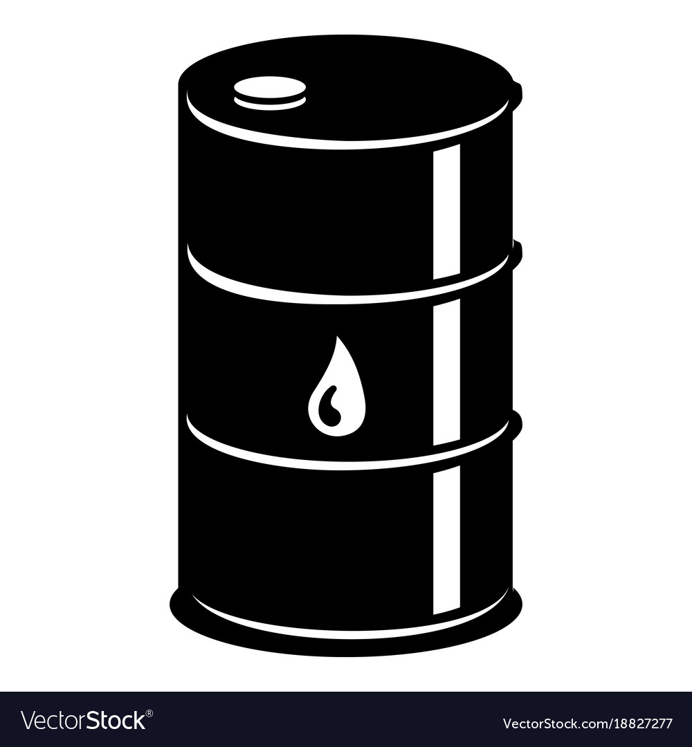 Barrel oil icon simple black style Royalty Free Vector ImageOil Barrel Icon