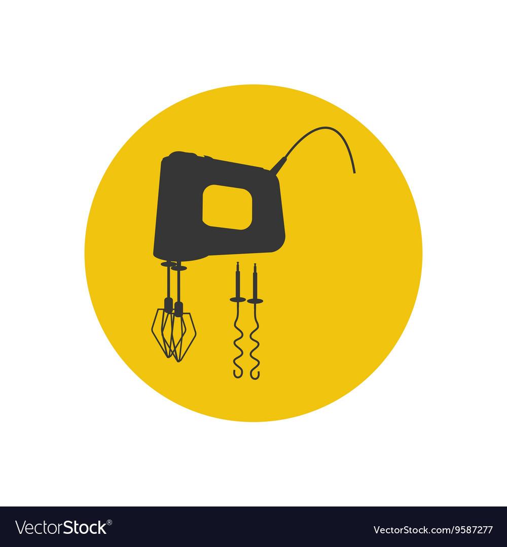 Mixer silhouette icon