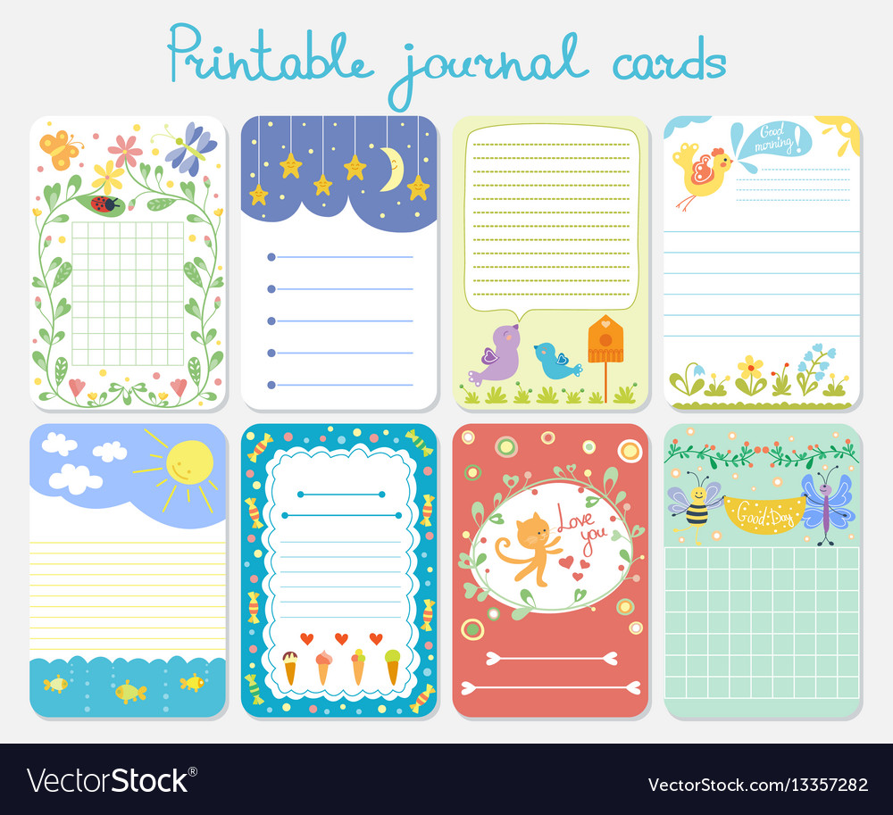 Baby Journal Template from cdn3.vectorstock.com