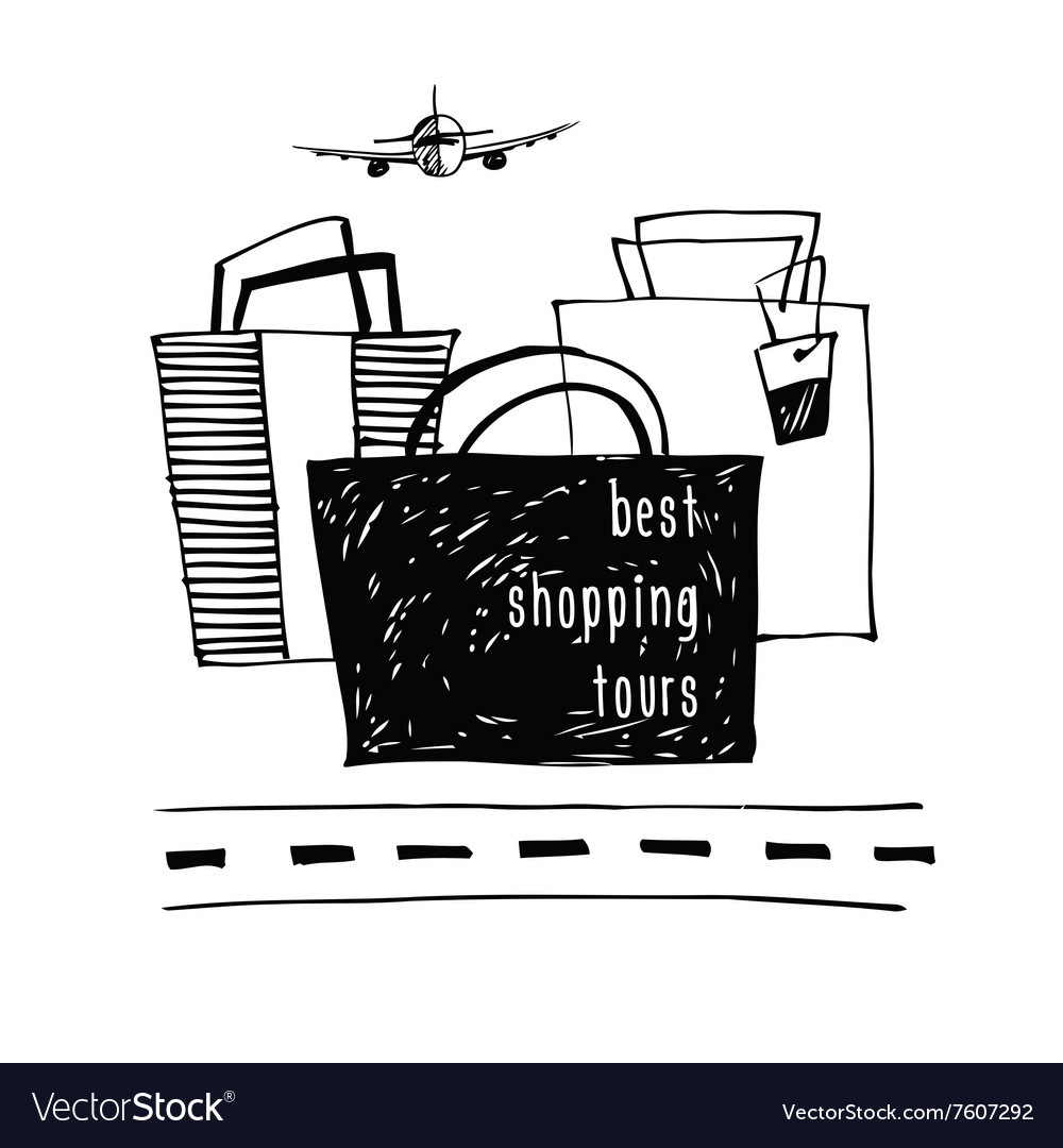 Best shopping tour design template Stylish