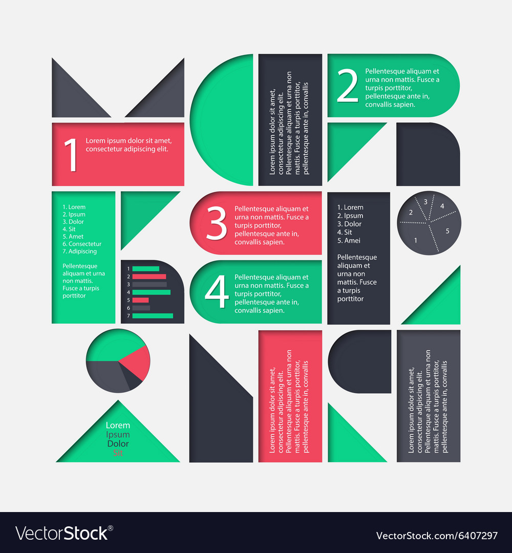 Marketing infographic template
