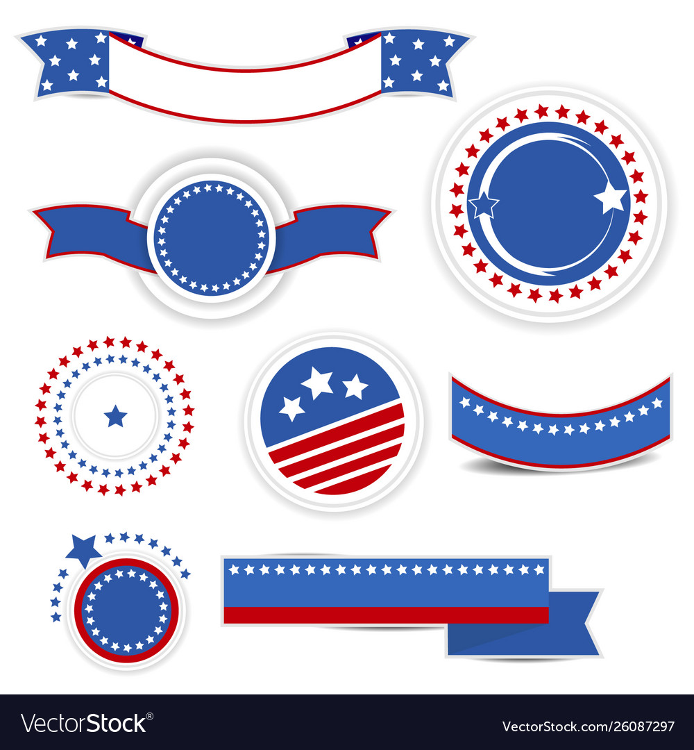 Set independence day design elements