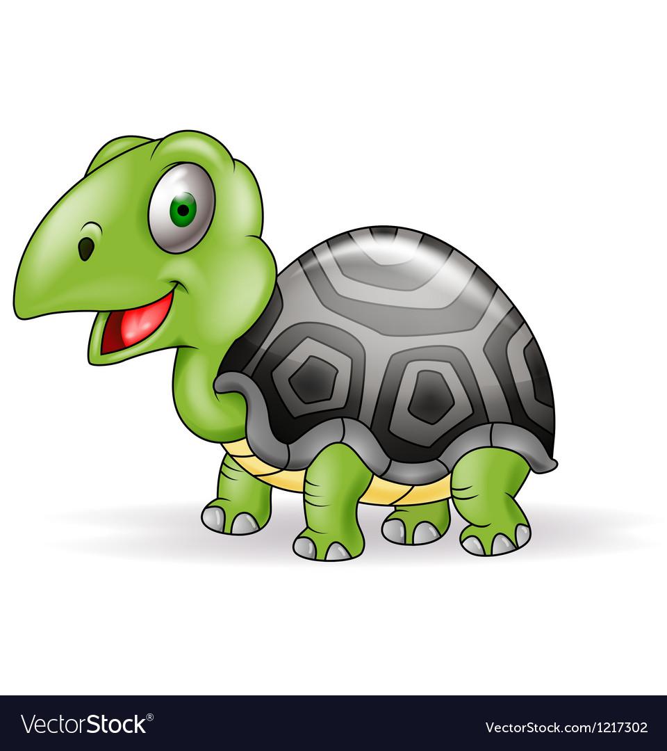 Cute Smile Turtle cartoon