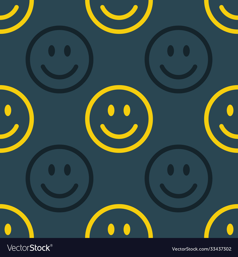Smile line icon pattern abstract