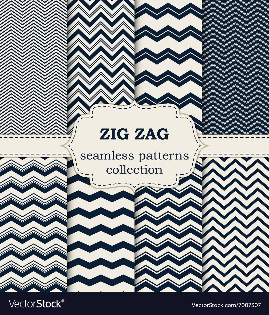 A set seamless patterns