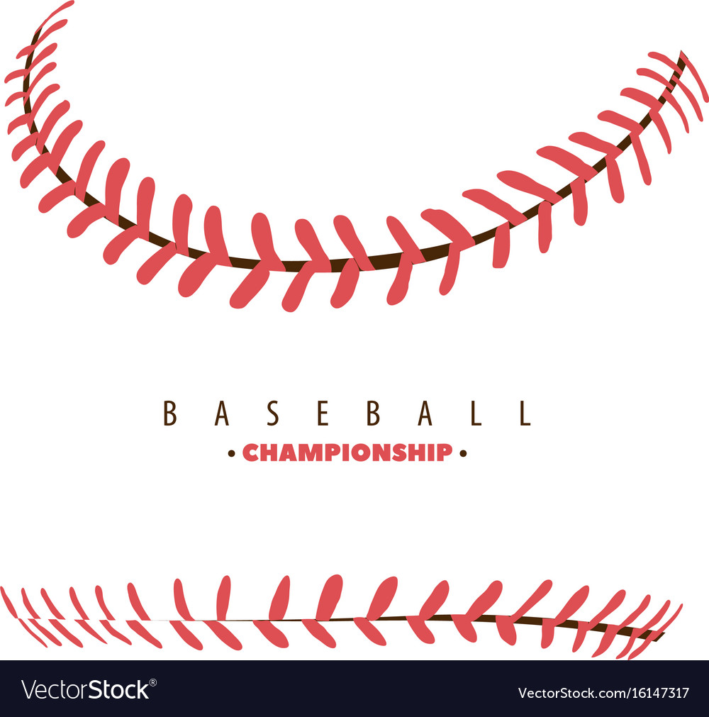Baseball competition poster vector image