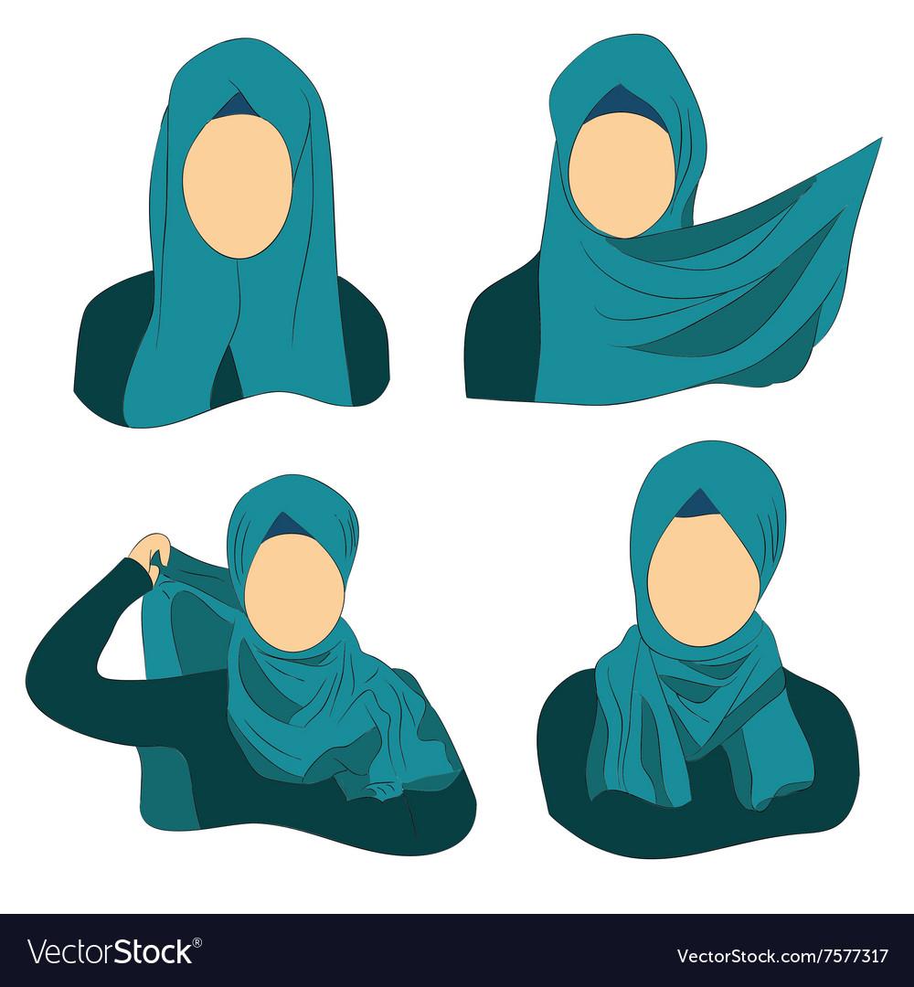 How to wear the Muslim hijab