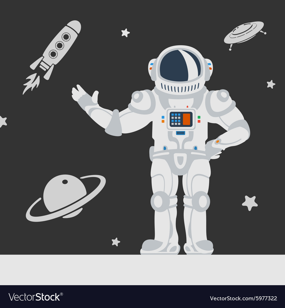 Astronauts in space