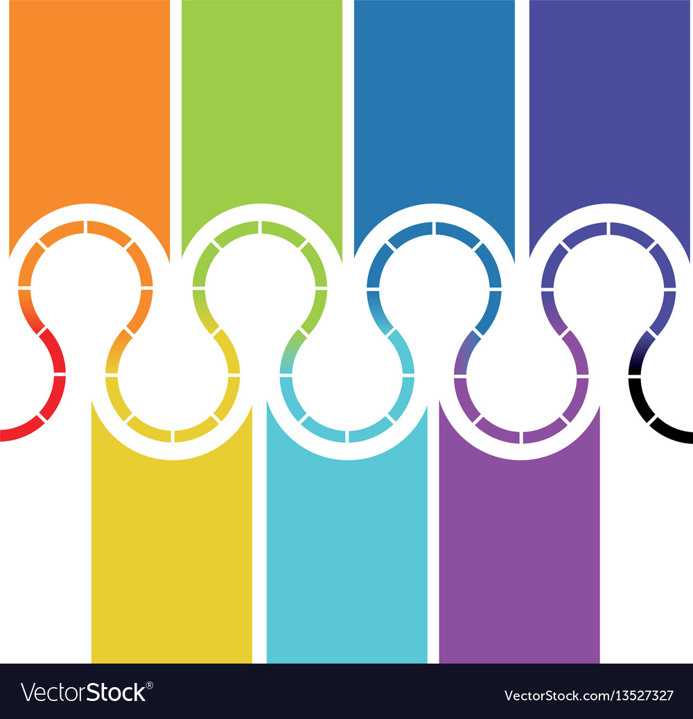Colors figures background icon