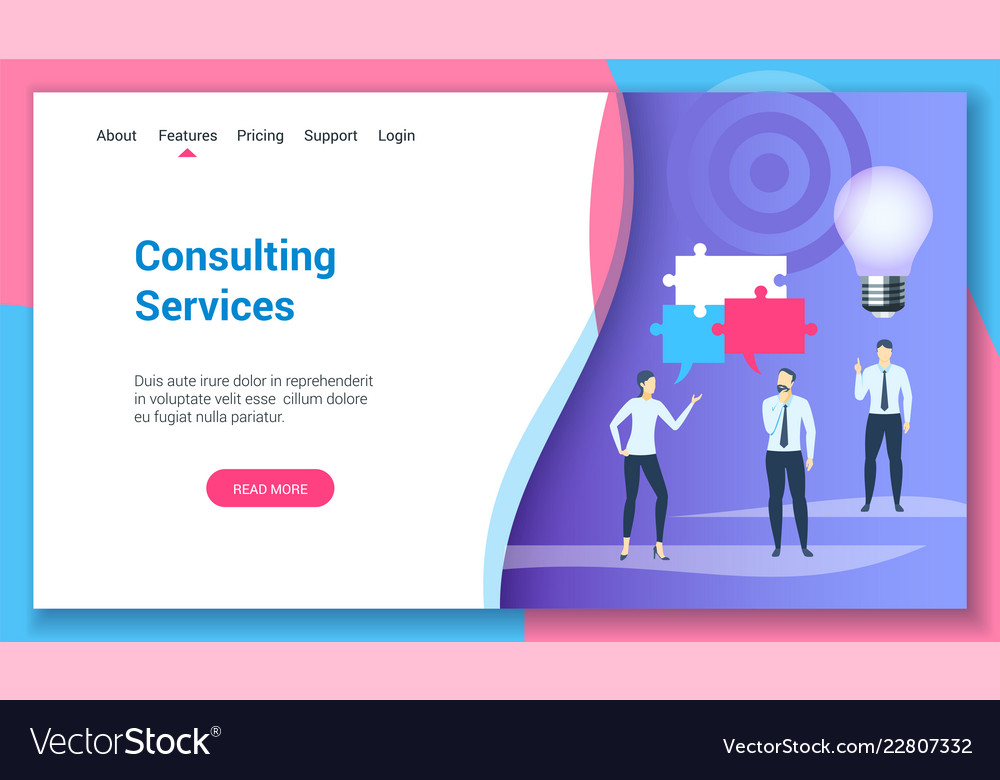 Consulting services lp template