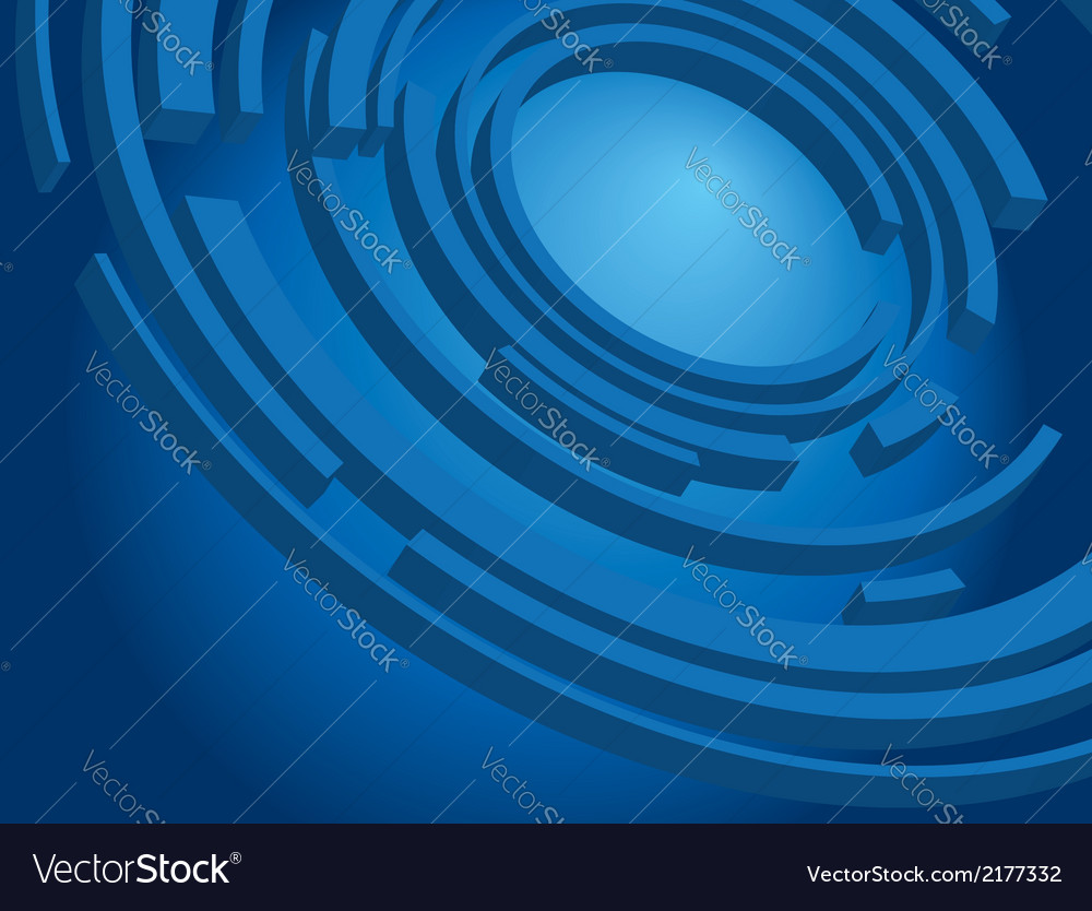 Dark blue background - wallpaper vector image