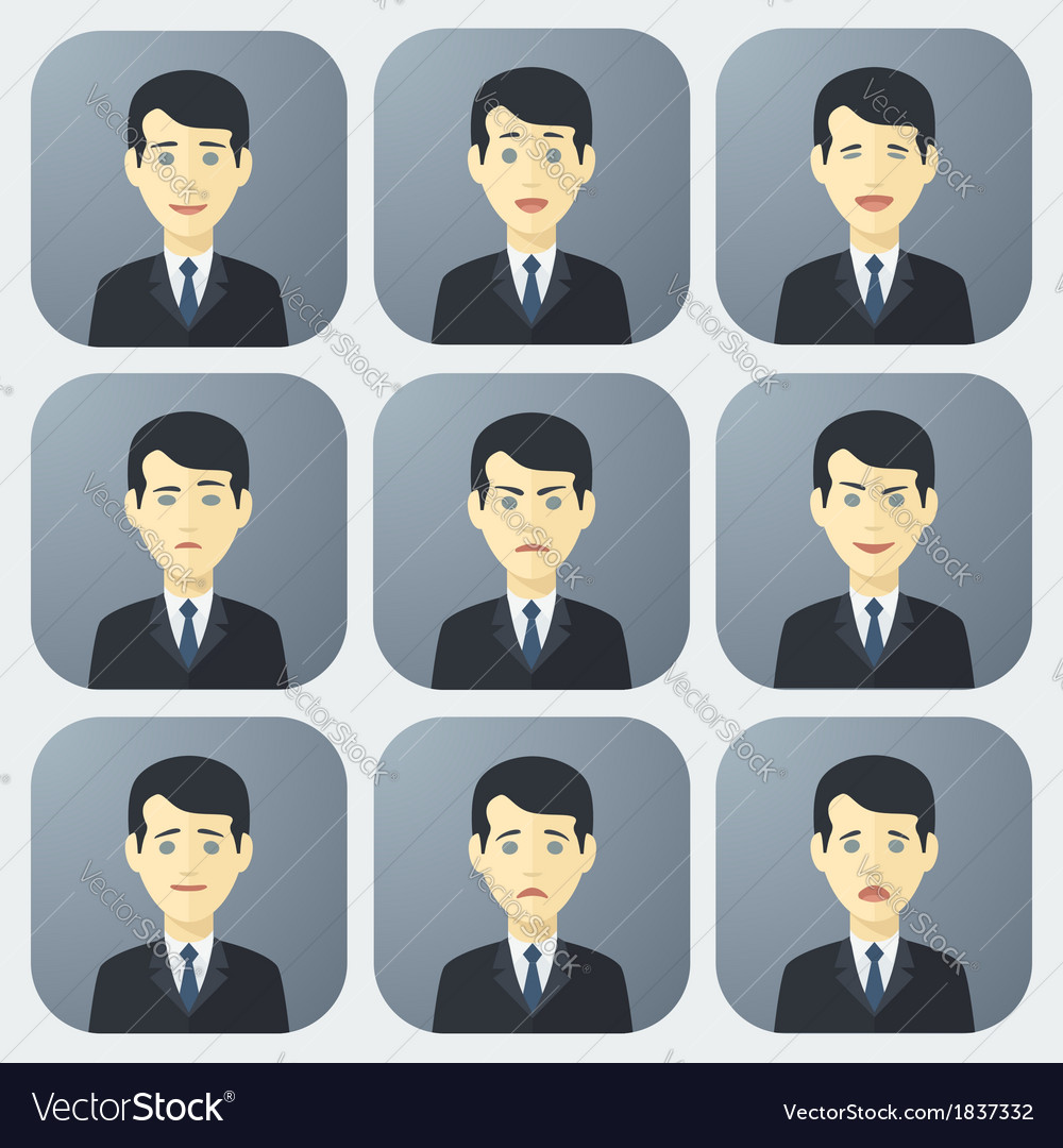 Emotions of Businessman