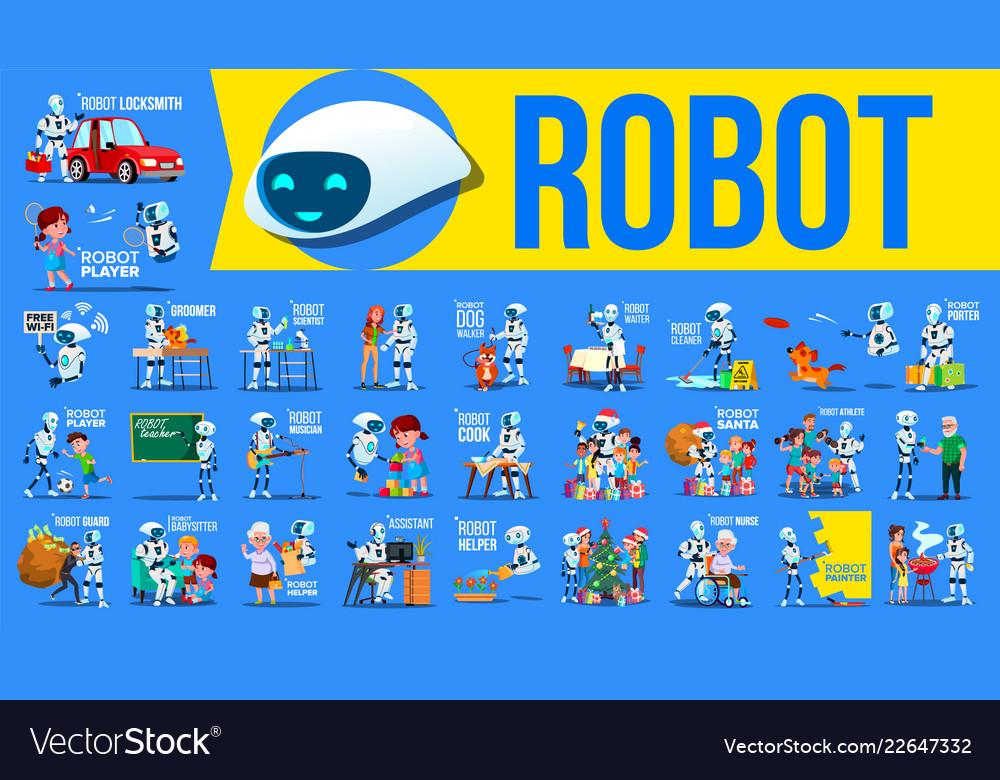 Robot helper set future lifestyle